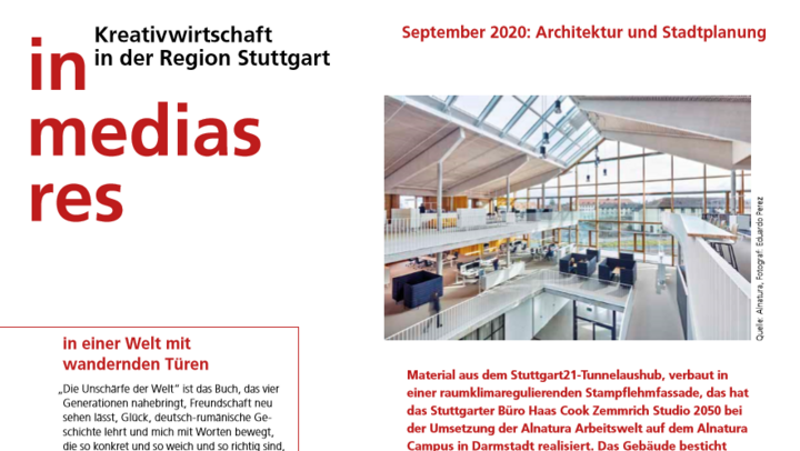 """in medias res"" Ausgabe August 2020"